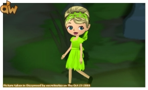 I chose the fairy costume because my nickname at home is Tink